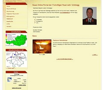 Internetportal der FF Schönegg