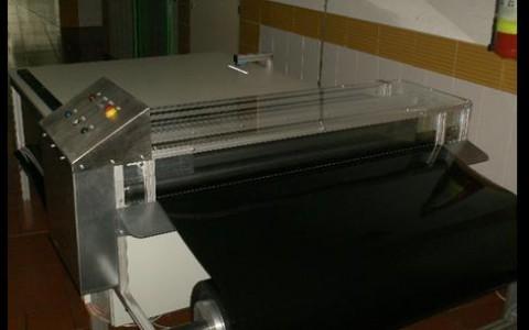 Schneidanlage für Pelletstankverkleidungen