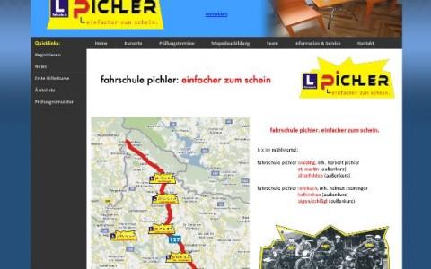 Anmeldesystem für Fahrschule Pichler