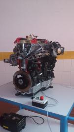 Schnittmodell AUDI-Motor