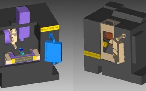 VERICUT für Spinner CNC-Maschine