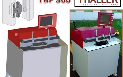 Fräsvorrichtung für Türbänder TBF300