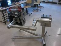 3D Manipulator für Motorschnittmodell
