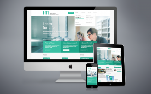 Die neue HTL-Homepage