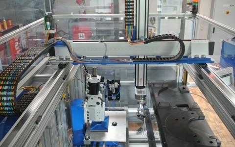 Automatisierung Teilemarkierung