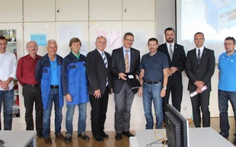 Röchling Leripa finanziert neuen Zeichensaal
