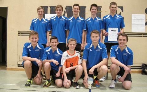 HTL Neufelden ist Volleyball-Bezirksmeister