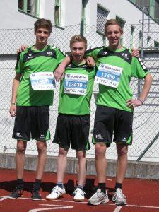 1. Platz bei Linz-Marathon