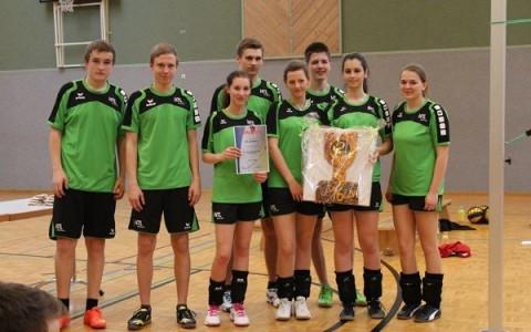Neue Volleyballdressen erfolgreich eingeweiht!