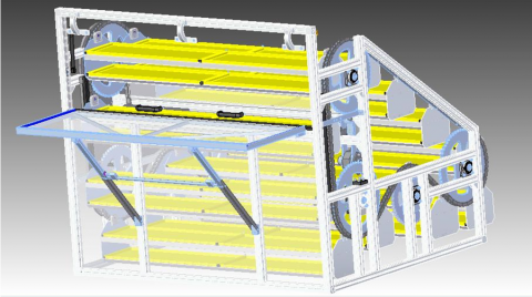Umbau eines Modellautolagers