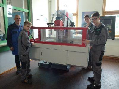 HTL Neufelden erweitert und modernisiert Maschinenpark
