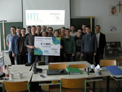 """Interkulturelle Schülerhilfe – HTL Schüler engagieren sich für """"Nurturing Uganda"""""""