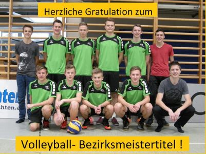 HTL Neufelden ist Volleyball-Bezirksmeister!