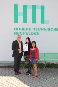 Die Landessiegerin im Fremdsprachwettbewerb Spanisch kommt aus der HTL Neufelden
