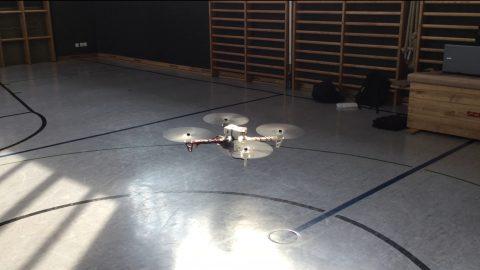 Exakte Positionierung einer Drohne mittels GNSS