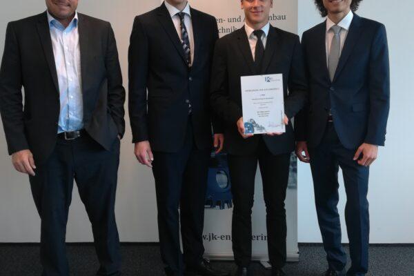 JK Enginnering Wettbewerb: 1. und 3. Platz für Diplomarbeiten der HTL-Neufelden
