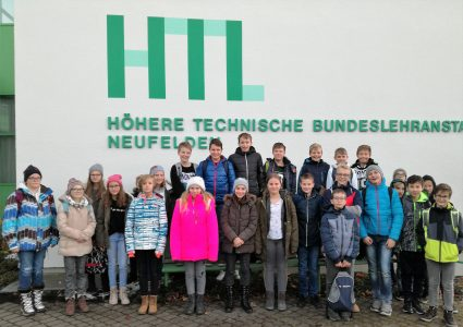 NMS Lembach: Exkursion in die HTL Neufelden