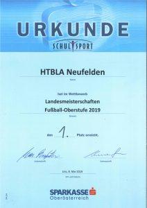 HTL Neufelden ist Landesmeister!