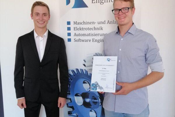 JK Engineering Wettbewerb: 2. Platz für Diplomarbeit der HTL-Neufelden