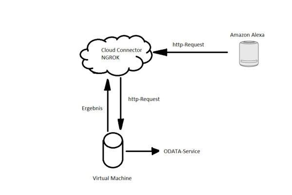 Alexa unterstützte Sprachsteuerung für SAP-Systeme