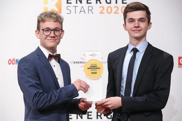 Maturanten der HTL Neufelden mit Energieforscherpreis ausgezeichnet
